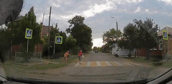 Ситуации на дорогах, забавные и не очень!