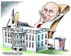 Read more about the article Подборка лучших карикатур про Путина В.В.