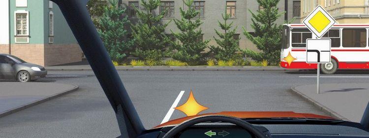 Вопрос 15 билет 9 ПДД. Кому Вы обязаны уступить дорогу при повороте налево?