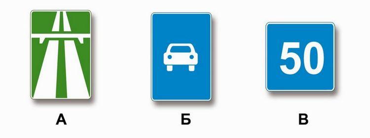 Вопрос 4 билет 9 ПДД. Какие из указанных знаков запрещают движение транспортных средств, скорость которых по технической характеристике или их состоянию менее 40 км/ч?