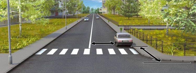 Вопрос 12 билет 1 ПДД. В каком случае водителю разрешается поставить автомобиль на стоянку в указанном месте?