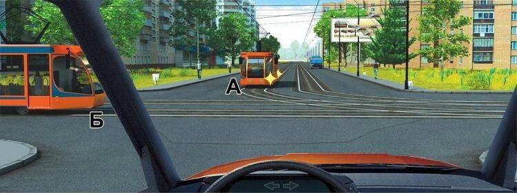 Вопрос 14 билет 1 ПДД. Вы намерены проехать перекресток в прямом направлении. Кому Вы должны уступить дорогу?