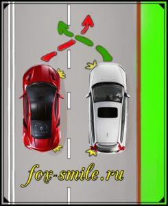 ПДД перестроение автомобиля